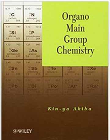 دانلود کتاب شیمی ارگانو گروه اصلی Kin-ya Akiba
