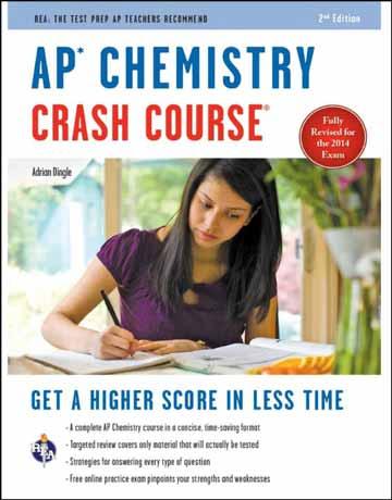 دانلود AP Chemistry Crash Course کتاب شیمی عمومی ویرایش دوم