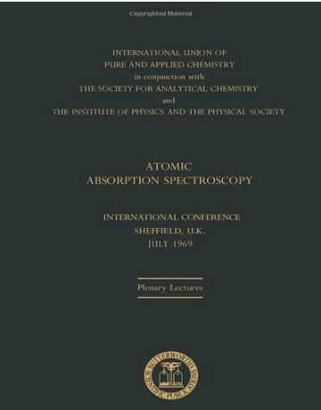 دانلود کتاب طیف سنجی جذب اتمی R. M. Dagnall