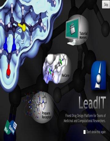 دانلود BioSolveIT LeadIT 2.1.8 نرم افزار طراحی دارو و شبیه سازی پروتئین-لیگاند