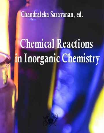 کتاب واکنش های شیمیایی در شیمی معدنی Chandraleka Saravanan