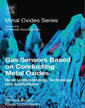 کتاب سنسورهای گازی بر پایه اکسیدهای فلزی رسانا Nicolae Barsan