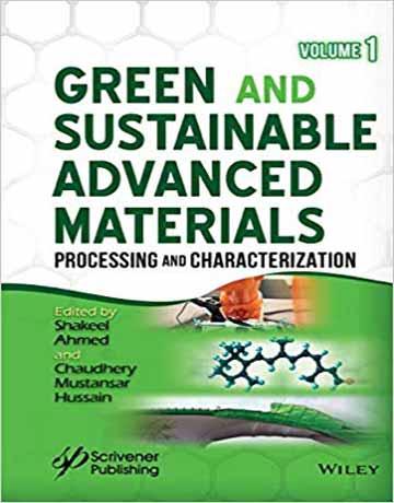 دانلود کتاب مواد پیشرفته سبز و پایدار: پردازش و شناسایی