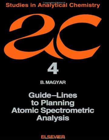 کتاب راهنمای آنالیز اسپکترومتریک اتمی برنامه ریزی شده B. Magyar