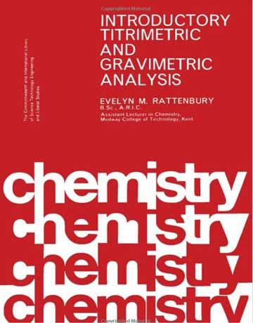 دانلود کتاب آنالیز تیتریمتری و گراویمتریک مقدماتی Evelyn M. Rattenbury