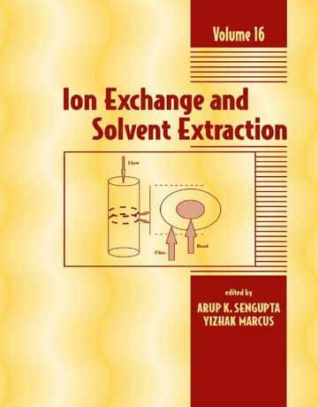 کتاب تبادل یون و استخراج حلالی جلد 16 Arup K. SenGupta