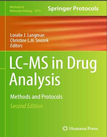 کتاب کروماتوگرافی مایع-طیف سنجی جرمی LC-MS در آنالیز دارو ویرایش دوم