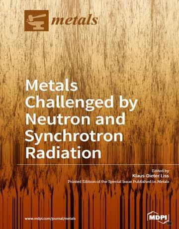 کتاب فلزات به چالش کشیده شده توسط نوترون و تابش سنکروترون