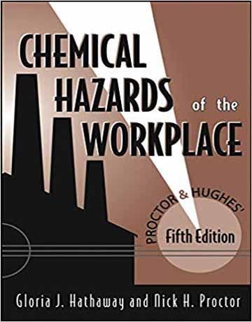 کتاب خطرات شیمیایی در محیط کار ویرایش پنجم Gloria J. Hathaway