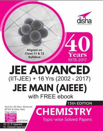 کتاب JEE Advanced Main Solved Paper Chemistry 13th Edition تست شیمی