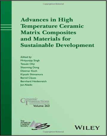 کتاب پیشرفت در کامپوزیت ماتریکس سرامیکی دمای بالا و مواد