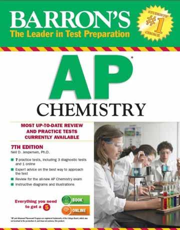 کتاب Barron's AP Chemistry شیمی بارون ویرایش هفتم