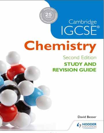 کتاب Cambridge IGCSE Chemistry Study Guide راهنمای شیمی کمبریج ویرایش دوم