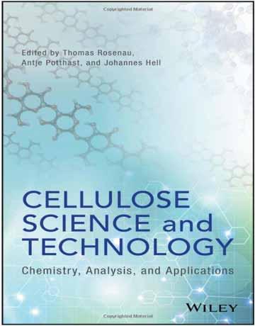 کتاب علوم و تکنولوژی سلولز: شیمی، آنالیز و کاربرد Thomas Rosenau