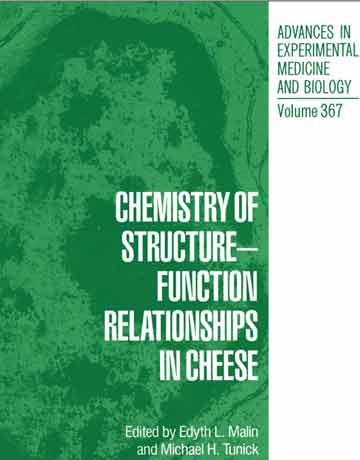 کتاب شیمی ارتباط ساختار-عملکرد در پنیر Edyth L. Malin