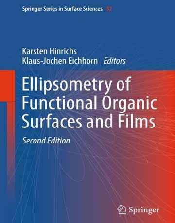 کتاب الیپسومتری سطوح آلی کاربردی و فیلم ها ویرایش دوم