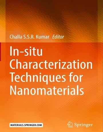 کتاب تکنیک های شناسایی و توصیف در محل برای نانومواد Challa Kumar