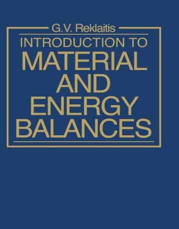 دانلود کتاب مقدمه ای بر موازنه ماده و انرژی Reklaitis