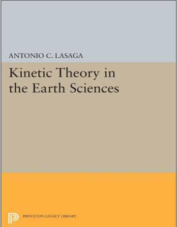 کتاب تئوری سینتیک در علوم زمین Antonio C. Lasaga