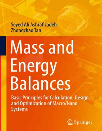 کتاب موازنه جرم و انرژی: مبانی پایه برای محاسبات و طراحی ماکر و نانوسیستم ها