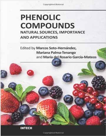 کتاب ترکیبات فنولیک: منابع طبیعی، اهمیت و کاربرد ها