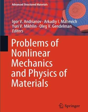 کتاب مسائل مکانیک غیر خطی و فیزیک مواد Andrianov چاپ 2018