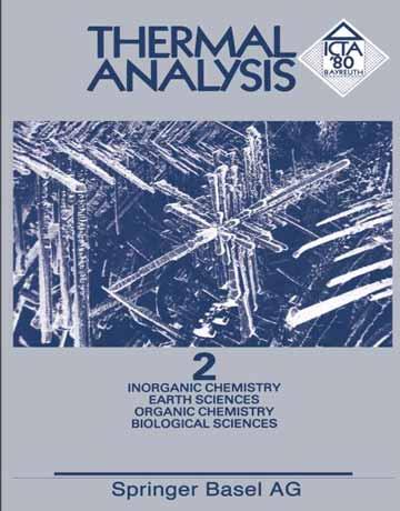 کتاب آنالیز گرمایی: شیمی معدنی، شیمی آلی، علوم پلیمر و دارویی جلد 2 Hemminger