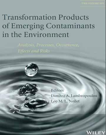 کتاب محصولات تبدیل آلودگی های جدید در محیط زیست Lambropoulou
