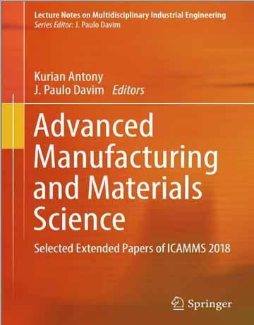 کتاب مهندسی تولید پیشرفته و علوم مواد چاپ 2018