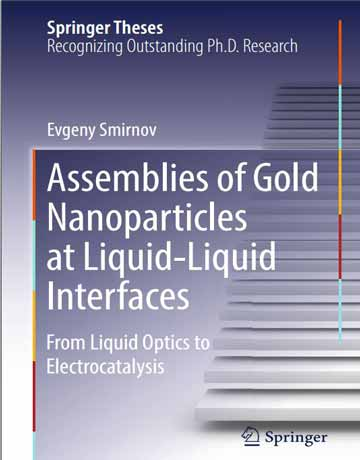 کتاب مجموعه نانوذرات طلا در فصل مشترک مایع-مایع