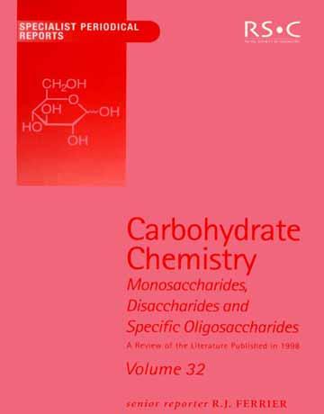 کتاب شیمی کربوهیدرات جلد 32 R J Ferrier