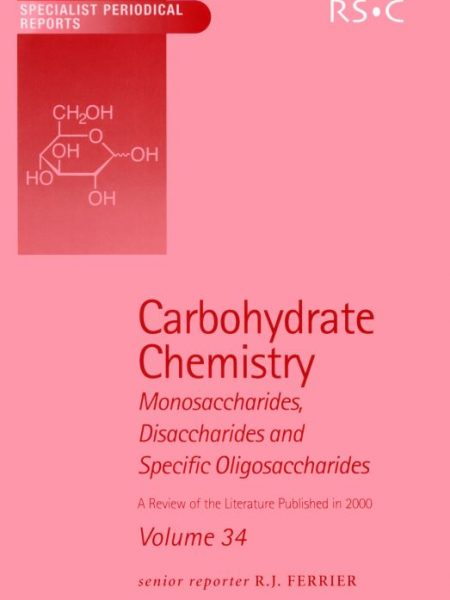 کتاب شیمی کربوهیدرات جلد 34 R J Ferrier