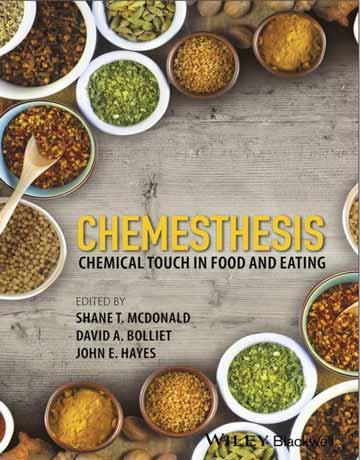 کتاب حساسیت شیمیایی Chemesthesis: لمس شیمیایی در غذا و خوردن