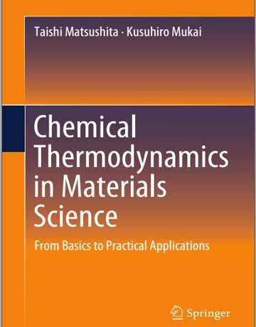 کتاب ترمودینامیک شیمیایی در علوم مواد Taishi Matsushita