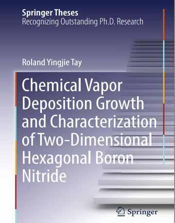 کتاب رشد رسوب دهی شیمیایی بخار و تعیین مشخصات بور نیترید هگزاگونال دو بعدی