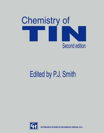 دانلود کتاب شیمی قلع ویرایش دوم P.J. Smith