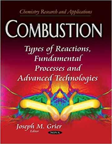 کتاب احتراق: انواع واکنش ها، فرآیند های اساسی و تکنولوژی های پیشرفته