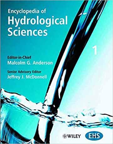 دایره المعارف علوم هیدرولوژیکال 5 جلدی Malcolm G. Anderson