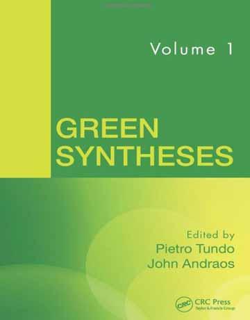 کتاب سنتز های سبز جلد اول Pietro Tundo