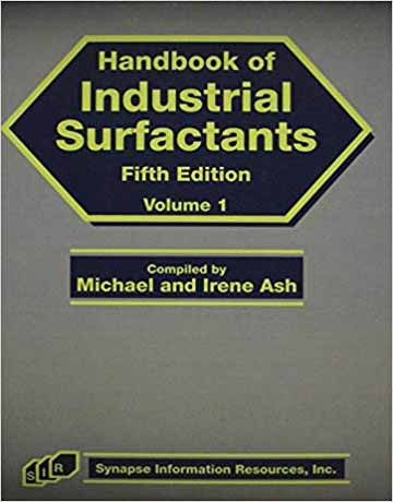هندبوک سورفکتانت های صنعتی ویرایش پنجم Michael Ash