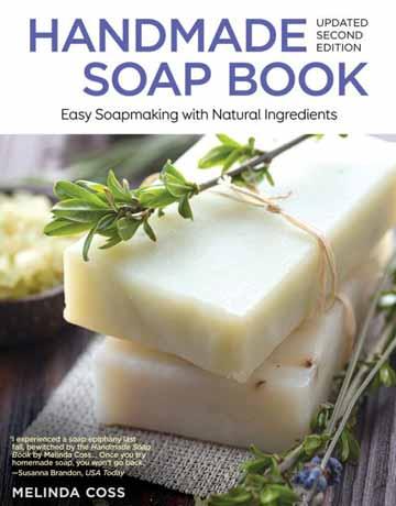 کتاب صابون دست ساز ویرایش دوم Melinda Cross