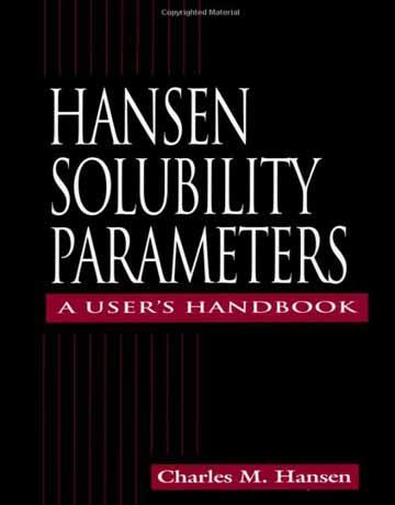 هندبوک پارامترهای حلالیت هانسن Charles M. Hansen