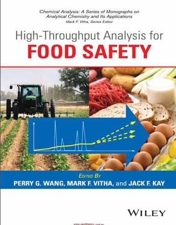 کتاب آنالیز شیمیایی توان عملیاتی بالا برای ایمنی مواد غذایی
