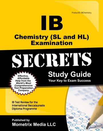 کتاب IB Chemistry Examination Secrets Study Guide شیمی عمومی