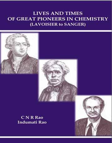 کتاب زندگی و روزگار پیشگامان و دانشمندان بزرگ در شیمی