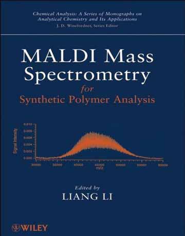 کتاب اسپکترومتری جرمی MALDI برای آنالیز پلیمر سنتزی