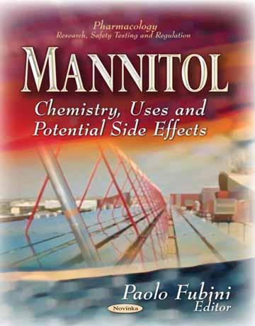 کتاب مانیتول: شیمی، استفاده و اثرات جانبی بالقوه