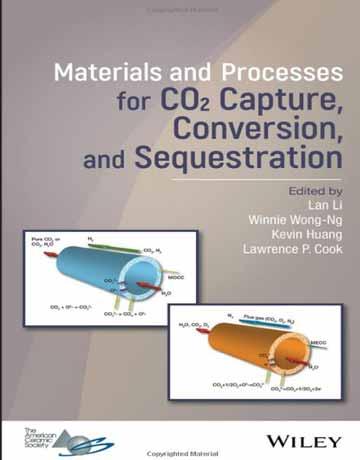 کتاب مواد و فرایندهای جذب، تبدیل و جداسازی CO2 کربن دی اکسید