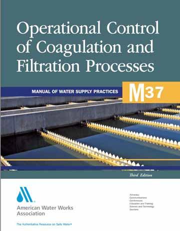 کتاب کنترل عملیاتی فرآیندهای انعقاد و فیلتراسیون ویرایش سوم