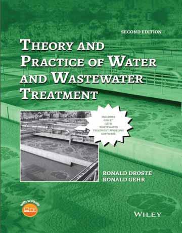 کتاب تئوری و عمل تصفیه آب و فاضلاب ویرایش دوم Ronald L. Droste